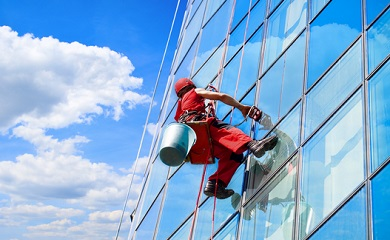 Commercial window washing services in the Metro Atlanta area
